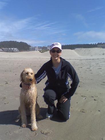 Pearl at Beach